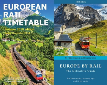 Summer 2018 ERT & Europe by Rail BUNDLE